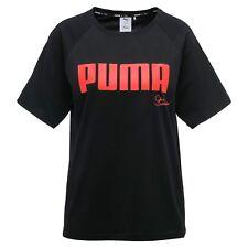 PUMA X Sophia Webster Women's Black Oversize T-Shirt. Size 8, 12, 14, 16