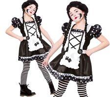 Child BROKEN DOLL Spooky Horror Halloween Girls Fancy Dress Costume Age 5-13
