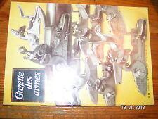 ! Gazette des Armes n°68 Platine de l'arme Baïonnettes Lebel Guerre souterraine