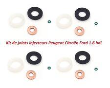 Kit Joint Injecteur Peugeot Citroën 90cv 110cv 1.6 Hdi Tdci ,206,207,307,308,407