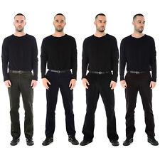 Nouveau Pantalon Homme cordon en velours côtelé coton formelle casual big plus ceinture pantalon poche