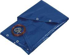 Bache de protection couverture pour piscine ronde - Ø 4,20 - 5,20 ou 6,20 m