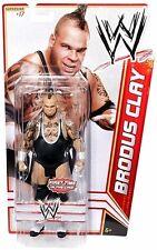 WWE Mattel Basic Series 15 Brodus Clay (#17) Wrestling Action Figure
