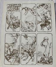 "VAUGHN BODE print, WATCHING WORDS, aka DEADBONE poster #3, 23"" x 29"", 1969"