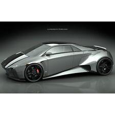 Adesivi o poster poster auto Lamborghini emboladoA237