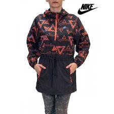 Womens Nike Packable Kagool Lightweight Jacket Aztec Running Cycling XS S M L