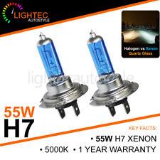 H7 55W bombillas halógenas de actualización de xenón HID Blanco de actualización de plasma 12V 5000K 6000K