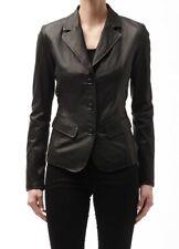 Women's Stylish Classic Genuine Lambskin Nappa Leather Blazer WB 23