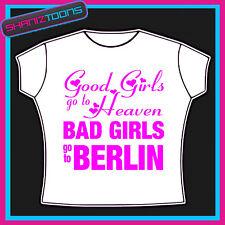 BERLIN GIRLS HOLIDAY HEN PARTY PRINTED TSHIRT