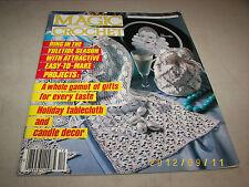 Magic Crochet Magazine Dec 1986 Number 45