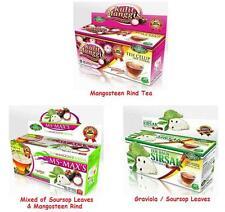 Graviola Soursop Leaves Mangosteen Rind Skin Herbs Natural Herbal Tea Tea Bags