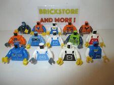 LEGO Plain Medium Blue minifigura Testa Busto Mani Gambe//Monocromatico