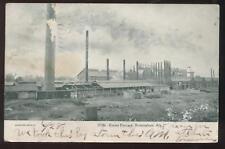 Postcard Birmingham AL Ensley Mill Furnace 1906?