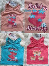 NEU name it 74 80 86 92 98 Sommer Shirt Schmetterling T-Shirt Tank Top Erdbeere