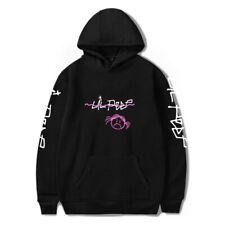 Lil Peep Lange Ärmel Liniert Vlies Weich Jumper Sweater Hoodie Kapuzenpullover