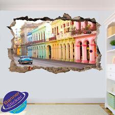 CUBA HAVANA RETRO WALL STICKERS ART DECALS MURALS ROOM OFFICE SHOP DECOR VP5
