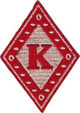 Kappa Alpha Psi Diamond Iron-On Patch