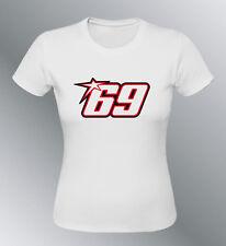 Tee shirt HAYDEN 69 S M L XL XXL femme moto GP motogp