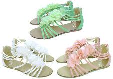 zapatos de niña sandalias rosa blanco verde 31 32 33 34 35 36 primavera verano