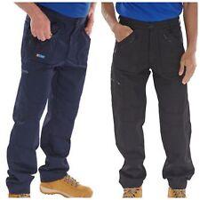 Click Nero Action Combat Abbigliamento Da Lavoro Pantaloni Militari 7 Con Zip