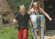 "Gerard Depardieu & Edouard Baer ""Asterix & Obelix"" Autogramme signed 20x30 cm Bi"