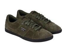 DIESEL Y00985 PR047 T7434 GOTCHA Mn's (M) Olive Night Suede Lifestyle Shoes