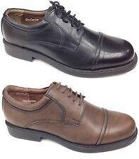 Herren London Klassisch Original Oxford Schwarzes Leder 3 Öse Mode Büroschuhe