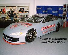 BILL ELLIOTT DODGE INTREPID TEST CAR 2001 8X10 PHOTO NASCAR WINSTON CUP
