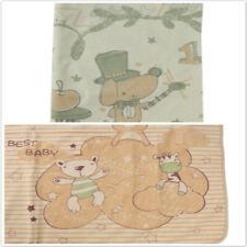 Lovely Printing Apricot Bunny Kids Baby Anti-Padding Cotton Supplies Pad Mat B