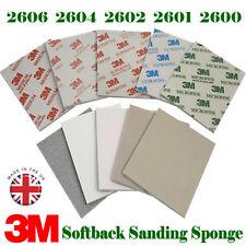 3M Micro Fine to Medium Abrasive Sanding Sponge 02600 02601 02602 02604 02606