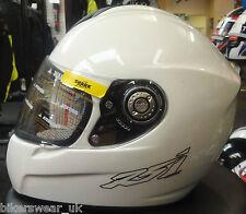 Shark RSI White Full Face Motorcycle Helmet Sizes XS RRP:£300 Last one