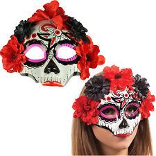 Máscara De Halloween Día De Muertos Darling mexicano dias Azúcar Calavera Máscara alma perdida