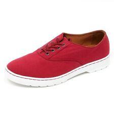 D1936 scarpa uomo DR. MARTENS LAKEWOOD scarpe rosso shoe man