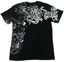 XZAVIER [Lost Soul Skull] t-shirt MMA motero Harley rocker tatuaje Ink 666 xzavie
