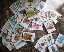 Visual promemoria Flash cards, Full Colour carte! PARAURTI pack 104 CARTE (autismo)
