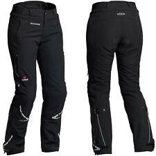 HALVARSSONS Wish Femmes Imperméable noir stratifié Pantalon moto court