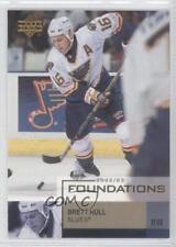2002-03 Upper Deck Foundations #82 Brett Hull St. Louis Blues Hockey Card