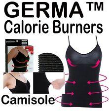 Germa Fat Burner Slimming Camisole - Slimmer, Burn Calories fast, Black Body Tub