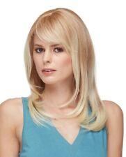 Long Wig LARGE CAP Face Frame Shag Bangs HEAT OK U Choose Color HS Romantic Wigs