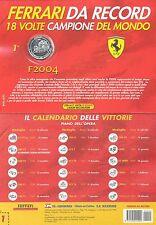 Medaglia Ufficiale FERRARI F2004 Schumacher Ferrari Da Record BOLAFFI n 1 NEW!