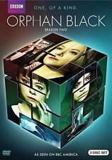 "Orphan Black, Season 2 (DVD, 3-Disc) ""NEW, SEALED""  (BUY SEASON 1, & SAVE $2.00)"