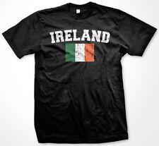 Ireland Heritage Irish Soccer Flag Colors Football Pride Team Fun Men's T-Shirt