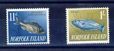 TIMBRE DE NORFOLK ISLAND NUMERO 34/35 **POISSONS