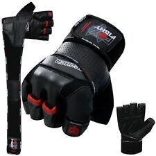 Brecher Fitness Kraftsport Trainings Handschuhe Kraftsporthandschuhe Leder neu