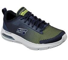 SKECHERS Men's Skech-Air:Dyna-Air-Blyce Walking Training Sneakers in Navy/Lime
