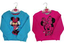 KIDS GIRLS MINNIE MOUSE SWEATSHIRT JUMPER CHILDRENS DISNEY TOP CLOTHES CLOTHING