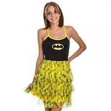 Batman Womens Juniors Tulle Bust Mini Costume Dress Tutu New S M L XL Licensed