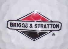 (1) BRIGGS & STRATTON  ENGINES   LOGO GOLF BALL BALLS