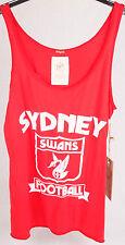 First 18 Official AFL Sydney Swans Girls Vintage Team Singlet