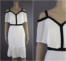 Glamzam New Womens Ladies Shift Off Shoulder Bardot Boho Mini Peasant Dress
